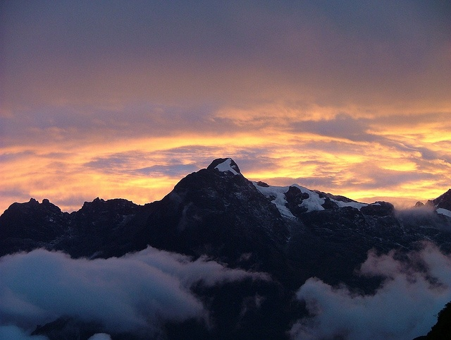 #sunset on the inca trail #peru