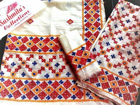 Gujrati stitch