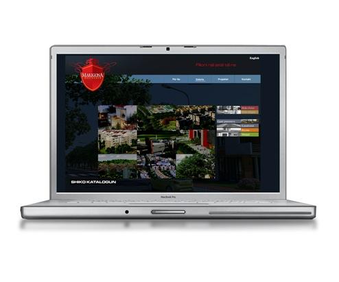 Web Design - Marigona Residence Prishtine