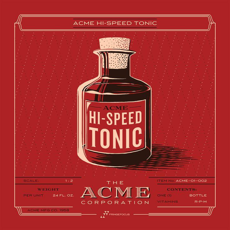 ACME Inventory Series   Hi-Speed Tonic   Fringe Focus