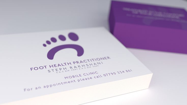 Branding for a Foot Health Practitioner in Bude, Cornwall