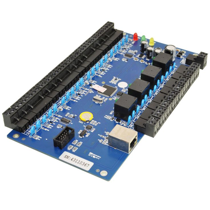Generic Wiegand CA-3240BT TCP/IP Network Access Control Board TCP/IP Network Intelligent four doors two ways support WG26 Carea