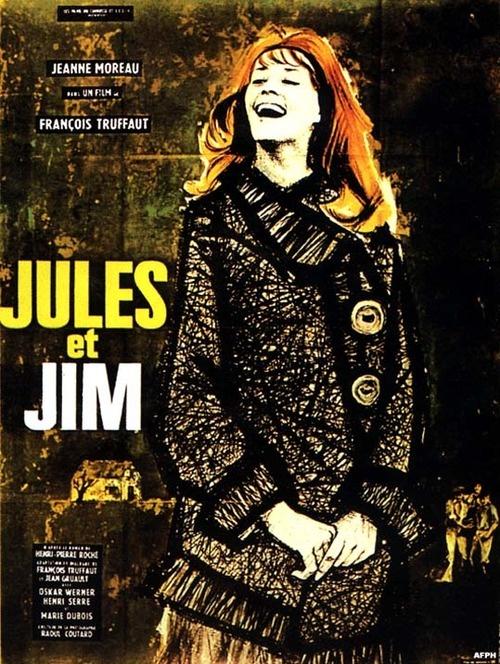 François Truffaut's Jules and Jim (1962) starring Jeanne Moreau, Oskar Werner & Henri Serre