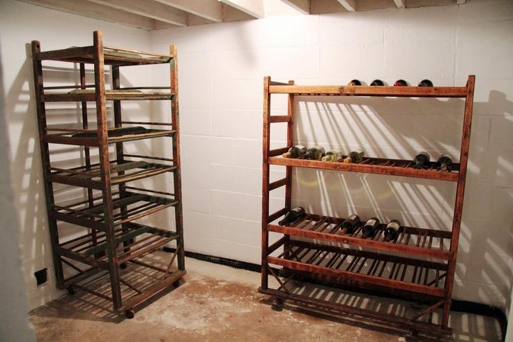 A Country Farmhouse: The Wine Cellar