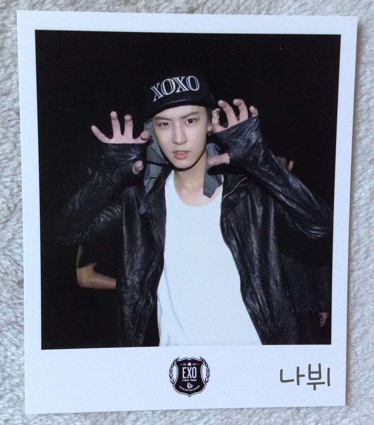 EXO Wolf Official Polaroid [Black]