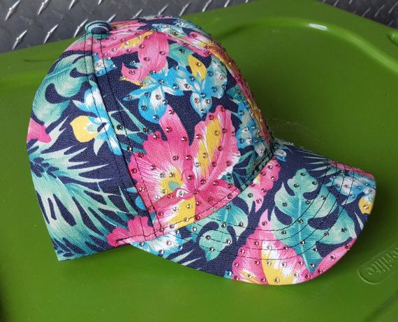 Check out this item in my Etsy shop https://www.etsy.com/listing/510248873/new-1-of-a-kind-denim-blue-hawaiian-hat