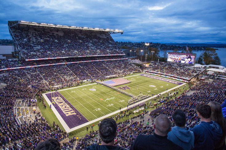 Best College Football Stadiums In America Ranked The Top 25 Thrillist Football Stadiums College Football Stadium