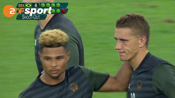Brasilien : Deutschland - 6:5 n.E. | Fußball - Finale| ZDF – Olympia Ri...