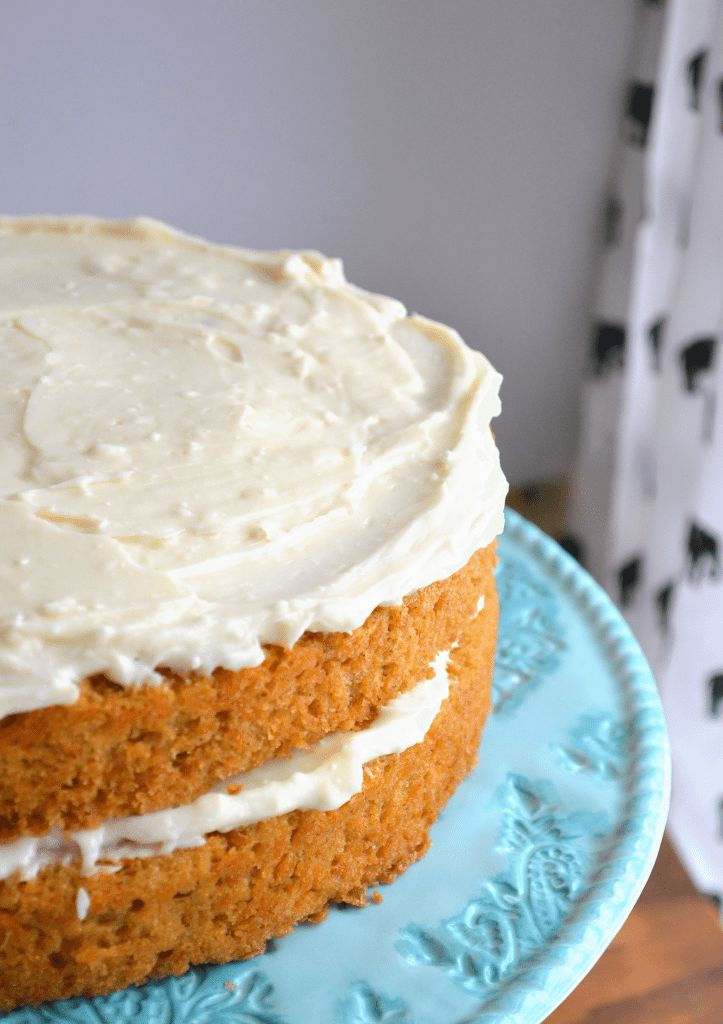 This is the BEST carrot cake recipe out there. Easy, classic, and delicious. Just like Grandma's! You will never look for another one again! #sweetmoments #sk #sponsored
