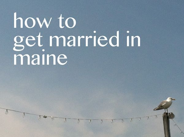 how to get married inmaine - blog - a maine wedding officiant | wedding blog | wedding planning guide | expert on getting married in maine - a sweet start