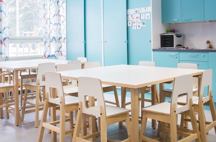 Lintuvaara elementary school and nursery in Espoo / Finland