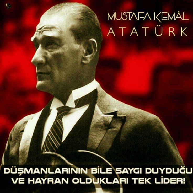 Tüm dünyanın imrenerek, gıptayla baktığı en büyük Türk, MUSTAFA KEMAL ATATÜRK