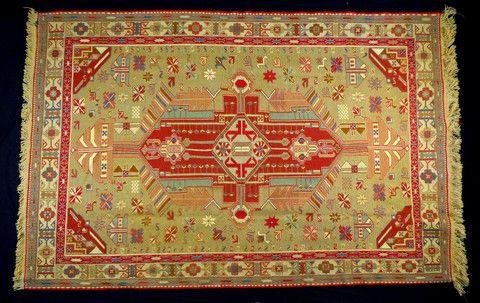 Tabriz Kilim (Code: 626 012 0102) - Persian Souvenir  - 1