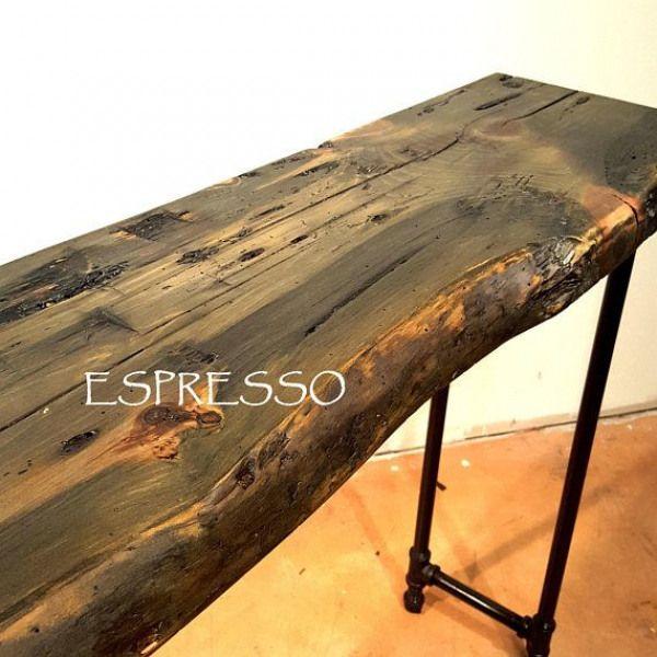 Long Sofa Table Dark Wood Table Console Table Entry Hall Table