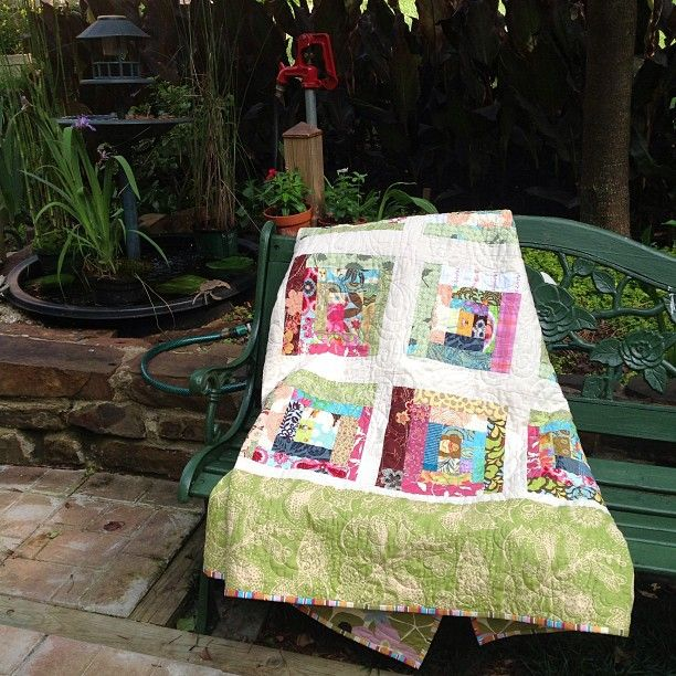 380 Best Images About Quilt Log Cabin Style On Pinterest