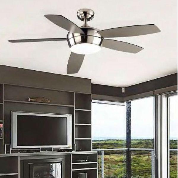 Samal ventilatore - Leds C4 Illuminazione - Soffitto - Progetti in Luce