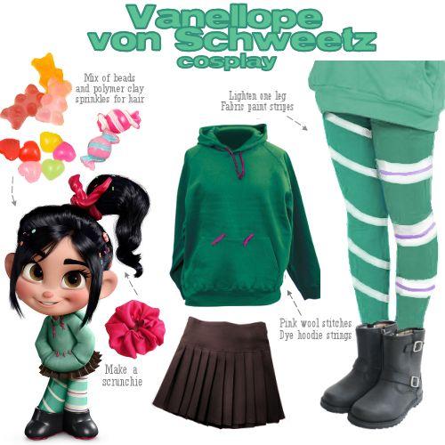 Vanellope | Mommy&Daisy halloween costume 2013 | Pinterest