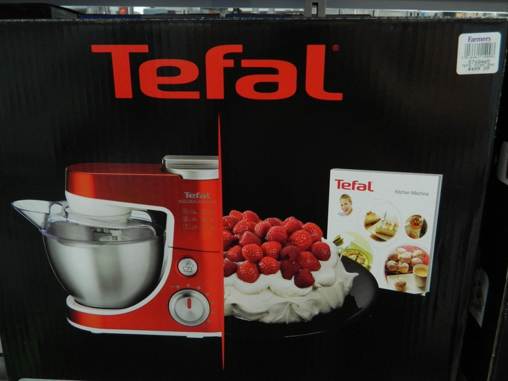 Natasha, Farmers.  Tefal Kitchen Machine - Red, $499.99
