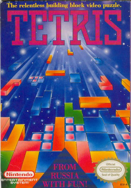 """Tetris - NES ... got this under """"Memories,"""" but I'd play it right now!"""