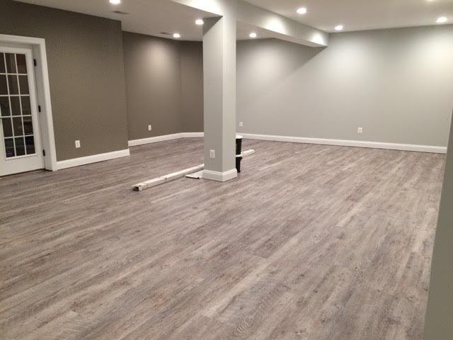 Basement Vinyl Plank Flooring, Vinyl Plank Flooring Basement Installation