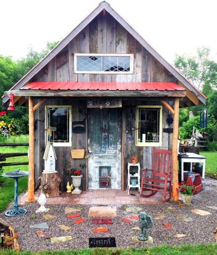 Garden Sheds Canada 20 best upcycled backyard sheds, porches, & fence ideas images on