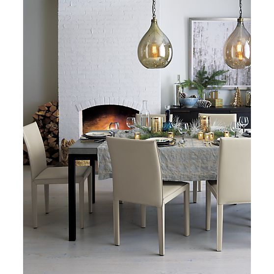 40 best dining images on pinterest dining area dining rooms and parsons concrete top 72x42 dining table with natural dark steel base in dining tables crate aloadofball Gallery