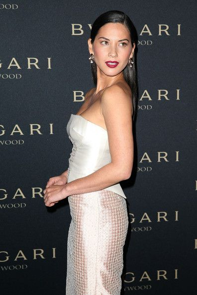 """Olivia Munn Photos - Actress Olivia Munn attends the BVLGARI 'Decades of Glamour' Oscar Party at Soho House on February 25, 2014 in West Hollywood, California. - BVLGARI """"Decades Of Glamour"""" Oscar Party Hosted By Naomi Watts - Arrivals"""