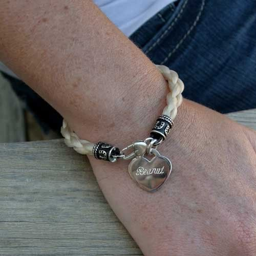 Tail Spin Bracelets - Bracelet from your Horse's Tail - Bracelets - Custom Horse Hair Jewelry