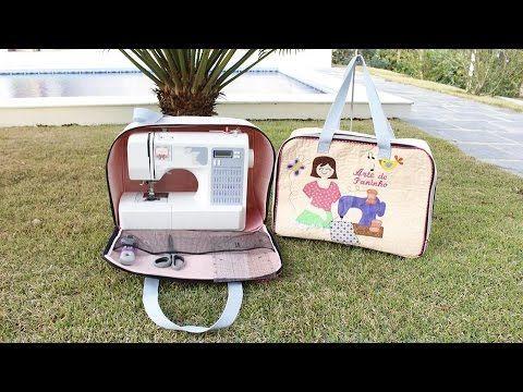 Ola , Gennnte vamos fazer ? uma linda bolsa para maquina de costura , os moldes você vai encontra NO BLOG http://rosimarycavalcante.blogspot.com.br/ GRUPO AR...