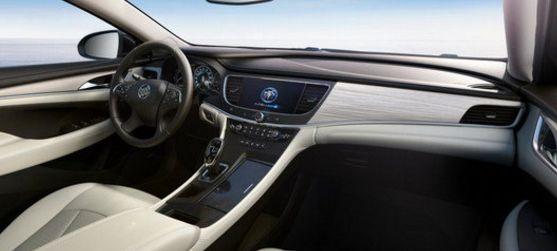 2017 Buick Lacrosse Interior