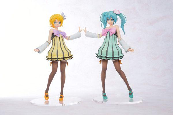Hatsune Miku -Project DIVA- Arcade Future Tone - Hatsune Miku - Kagamine Rin - Cheerful Candy Vers. - SEGA | Anime Manga Comic PVC figur Statue