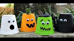 Easy halloween arts and crafts for kids