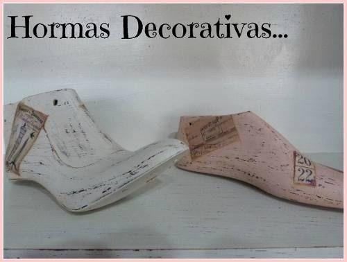 Hormas Zapatos Vintage Shabby Chic Decoracion Souvenir - en MercadoLibre