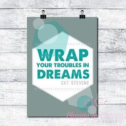 Cherry & Cherry PRINTS - Wrap your troubles Cod produs: D-086 Disponibil...