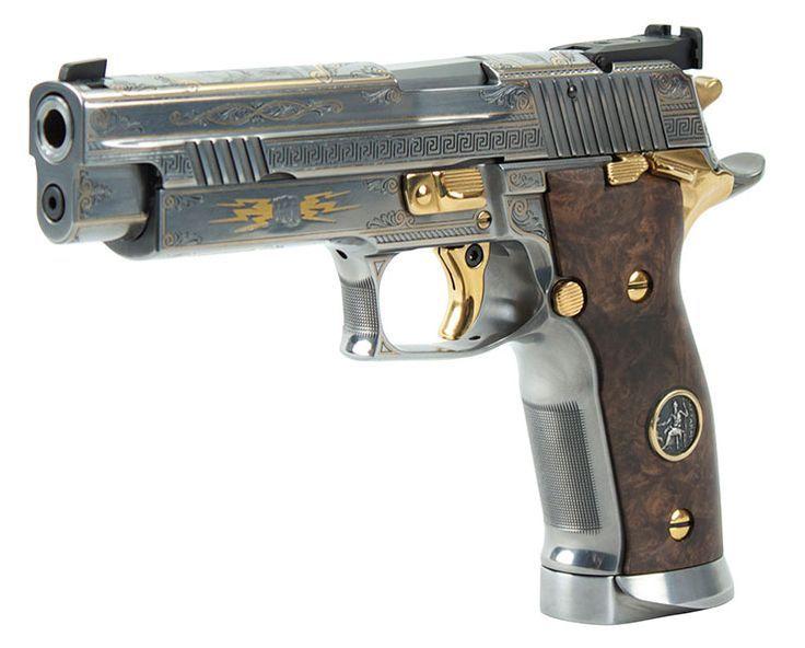 Sig Sauer Zeus #pistol #gun #handgun