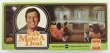 Vintage 1974 IDEAL TOYS Board Game LETS MAKE A DEAL Monty Hall ABC TV