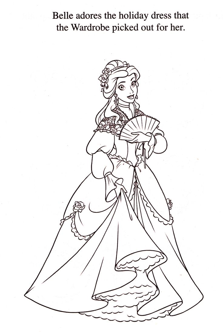 Princess anastasia coloring pages - Disney Coloring Pages