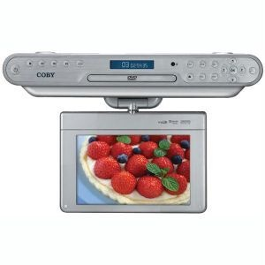 Coby Ktfdvd7093svr Under-Cabinet Lcd Tv/dvd Combination With Radio (7)