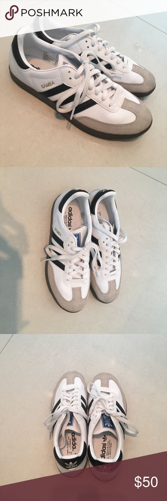 Adidas Samba Sneakers Barely used great condition  I️ wear an 8.5 in ladies open to offers adidas Shoes Athletic Shoes
