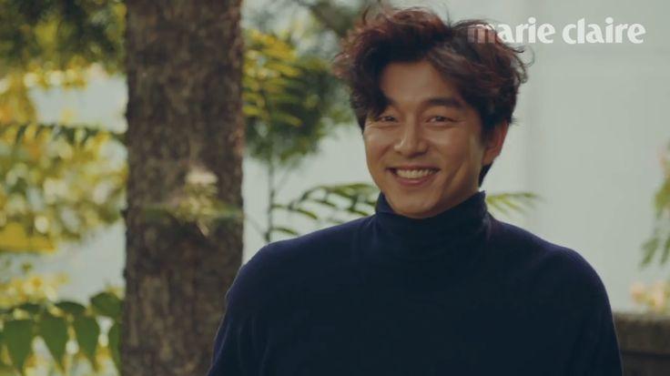 Gong Yoo - Marie Claire Korea July 2016 screen shoots