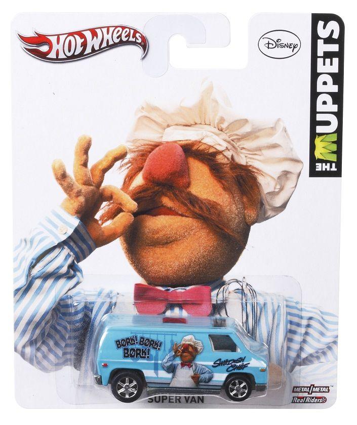Hot Wheels + muppets= super van