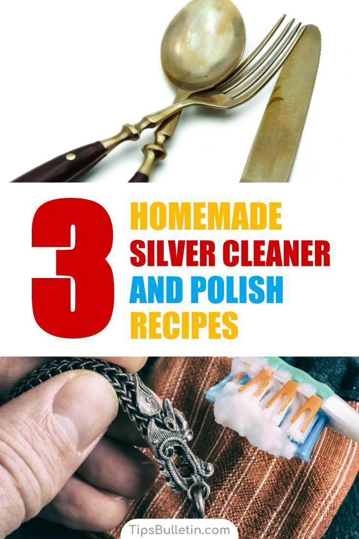 3 makeyourown silver cleaner polish recipes homemade