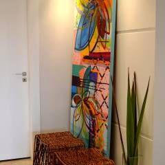 Hall de Entrada: Corredores, halls e escadas Moderno por Helô Marques Associados