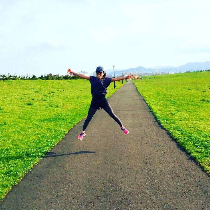今日はジョギヨグ日和10km走ったぁフルマラソンでたい痩せたいジュンジュンになりたいjunjun #13日の金曜日#ジェイソン#13日#jogging#10km#joggingDAY#sapporo#今日も良い日#happy#rough#instagood#run#nike#running by 26saaya