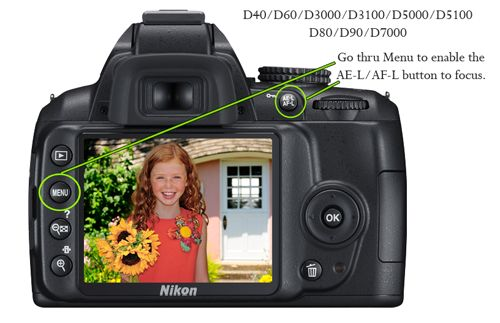 What is back button focusing and how to do it via @amandapadgett #photography