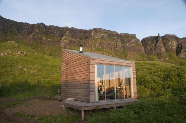 Art residency space on the Isle of Eigg, Scotland. The structure is part ofThe Bothy Project, which is building a network of small-scale spaces throughout Scotland. Here's another one near Aviemore we featured previously. Contributed byBobby Niven.