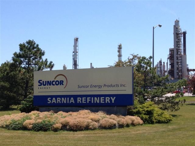 Suncor Energy Completes Maintenance at Sarnia Refinery