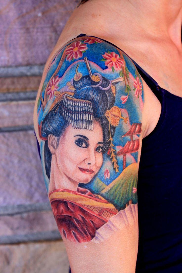 Geisha tattoo elegant geisha tattoo picture - Tattoo Stencils Pattern Tattoos Geisha Tattoos Design Tattoos Tattoo Designs Geishas Tatto Designs Tattoo Patterns Tattoos