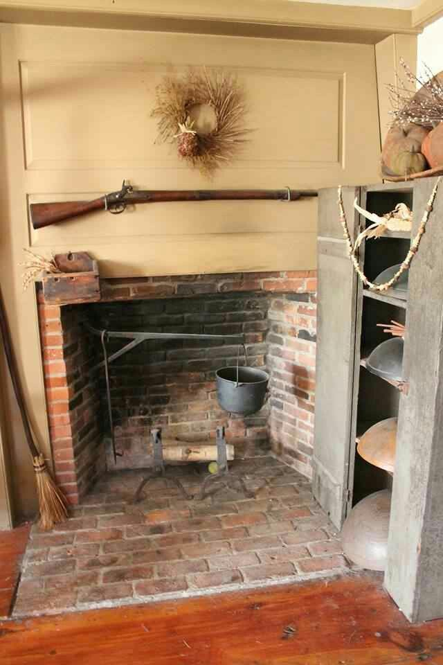 17 Best Ideas About Primitive Fireplace On Pinterest