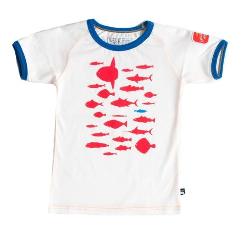 UGLY - T-skjorte Red Fish